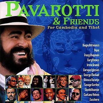 Luciano Pavarotti - Pavarotti & Friends for Cambodia and Tibet [CD] USA import