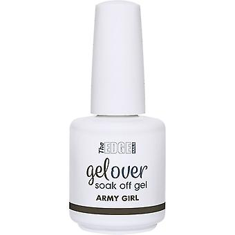 The Edge Nails Gelover 2019 Soak-Off Gel Polish Collection - Army Girl 15ml (2003347)