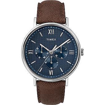 TW2T35100, Klassische Southview Timex Style Herrenuhr / Blau