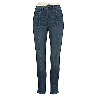 Laurie Felt Women's Denim Ankle Skinny Pull-On Jeans /Seam Blue A372262