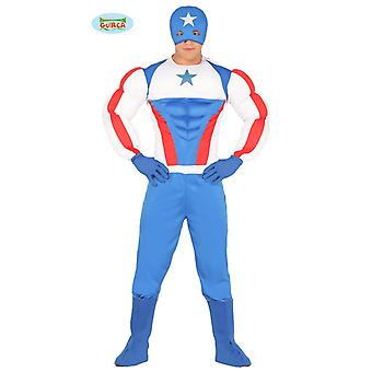 Super costume de superstar Hero pour hommes