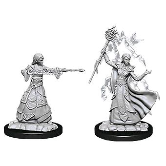 D&D Nolzur's Marvelous Unfnted Minis Female Elf Wizard