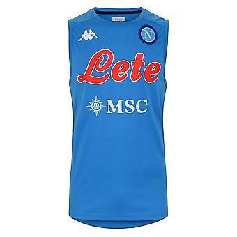 2020-2021 Napoli Sleeveless Shirt (Blue)
