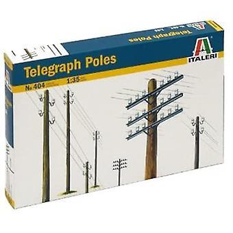 Italeri 404 Telegraph Poles Model Kit