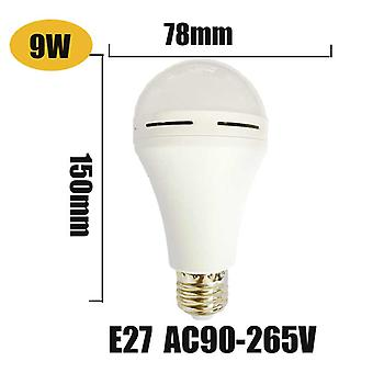 Led Smart Bulb 9w/7w Led Emergency Light 85-265v Baterie reîncărcabilă pentru home indoor
