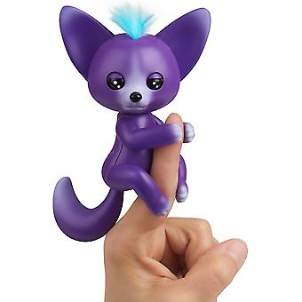 WowWee Fingerlings Interactive Baby Fox Sarah Purple Toy