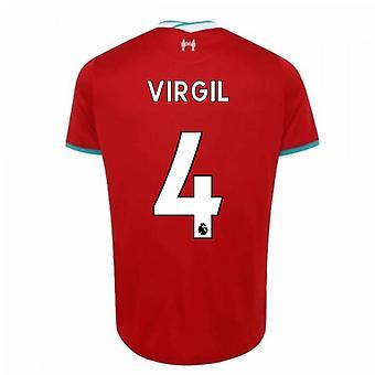 2020-2021 Liverpoolin kotipaita (VIRGIL 4)