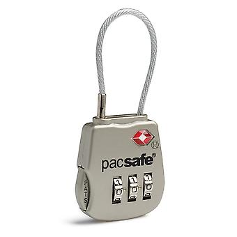 Pacsafe Prosafe 800 3-Dial Cable Lock - Silver