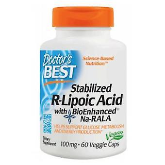 Lääkärit paras stabiloitu R- liponihappo, 100 mg, 60 kasvismyrkkyä
