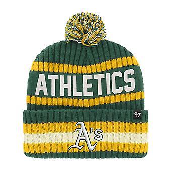 47 Brand Beanie Winter Hat - BERING Oakland Athletics