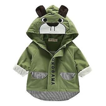 Baby Boys Girls Clothes Totoro Cartoon Newborn Jacket Hooded Outerwear Coat Toddler Bebes Kids Children's Clothing Spring Autumn
