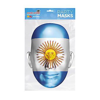 Máscara-arade Argentina Fiesta Fiesta Máscara de Cara