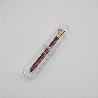 معدنية الماس قلم رصاص كريستال الدورية القلم مع كيس كيس علبة حالة القرطاسية