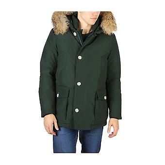 Woolrich - Vaatteet - Takit - ARCTIC-ANORAK_HOLLY-GREEN - Miehet - forestgreen - S