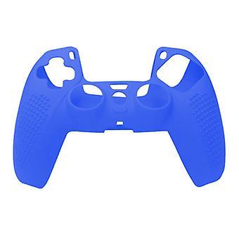 الاشياء المعتمدة® المضادة للانزلاق الغطاء / الجلد لبلاي ستيشن 5 وحدة تحكم - قبضة غطاء PS5 - أزرق