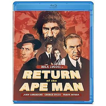 Återlämnande av Ape Man [Blu-ray] USA import