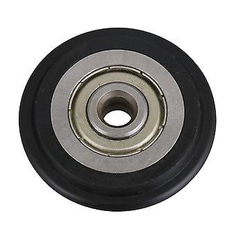 Non-standard 6MM Bore 608ZZ Ball Bearing Nylon Guide Wheel Pulley Roll