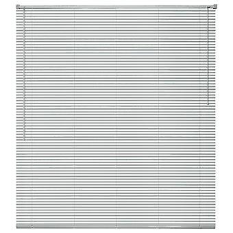 نافذة الستائر الألومنيوم 60x220 سم الفضة