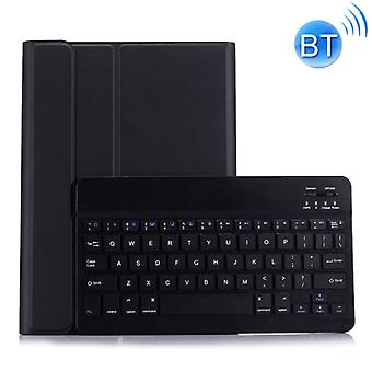 ST 860S لسامسونج غالاكسي تاب S6 10.5 بوصة T860 / T865 قابل للفصل الخلفية لوحة المفاتيح بلوتوث حالة مع حامل & فتحة القلم (أسود)