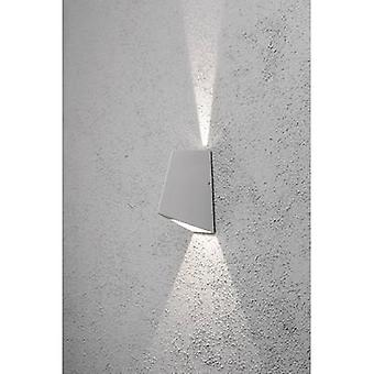 Konstsmide Imola Up & Down 7928-310 LED outdoor wall light 8 W Warm white Silver-grey