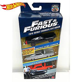 Genuine Hot Wheels Fast And Furious Series Cars Dodge Charger Preferential Pack