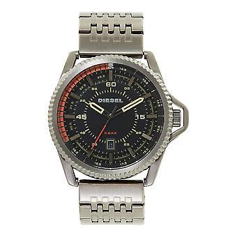 Diesel DZ1719 Rollcage Gunmetal Grey Stainless Steel Men's Watch