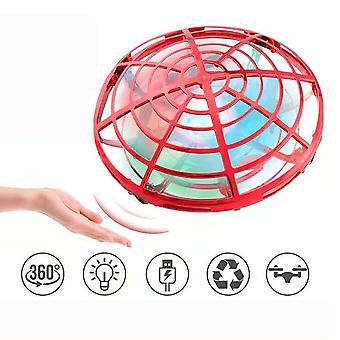 Flying UFO Niños Juguetes Flying Hover Disco Bola Toy Drone con Luz LED Intermitente