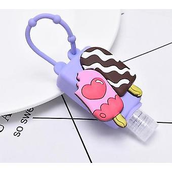 Mini Hand Sanitizer Travel Portable Safe Gel Holder - Hangable Liquid Soap