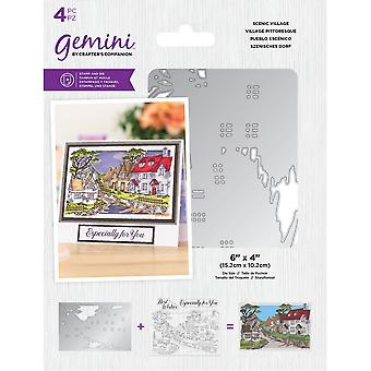 Gemini Scenic Village Stamp & Die