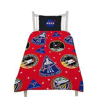 NASA Patches Dekbed Cover Set