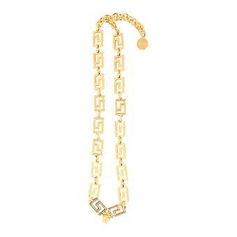 Versace Dg17593djmtd00h Hombres's Collar de latón de oro