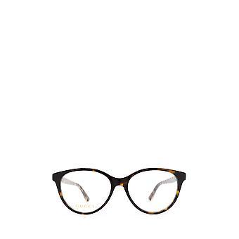 Gucci GG0379O havana żeńskie okulary
