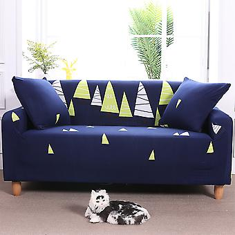 Universal Fitted Stretch Sail Boat Print Sofa Slipcover