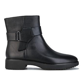 Women's Fit Flop Knot Ankle Boots in Black