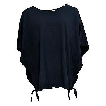 Belle By Kim Gravel Women's Top TripleLuxe Knit Blue A351250