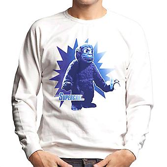 Supercar Mitch The Monkey With Banana Men's Sweatshirt