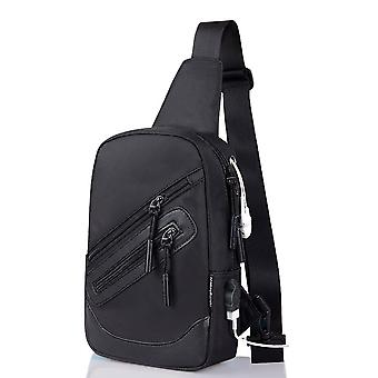 Plecak Talia Torba na ramię Nylon kompatybilny z Ebook, Tablet i Motorola Razr 5G (2020)