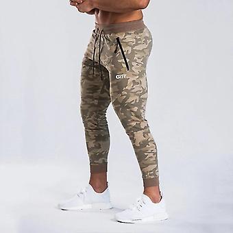 Rychlé sušení Muži Sportovní tužka Kalhoty Kulturistika Joggers Gym Kalhoty