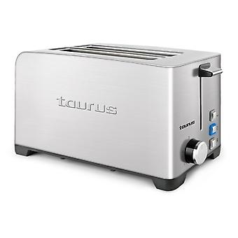 Broodrooster Taurus MyToast 2R 1400W roestvrij staal