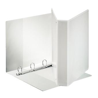 Esselte 55295 A4 White Presentation Ring Binder 4x 'D' Rings 40mm
