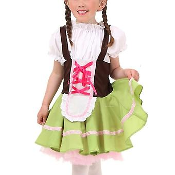Oktoberfest Maid Girl Halloween Costume