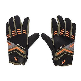 New Sealskinz Men's Dragon Eye Mountain Bike Gloves Black