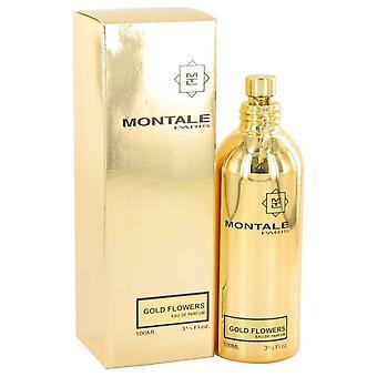 Montale Gold Blumen Eau De Parfum Spray von Montale 3,3 oz Eau De Parfum Spray