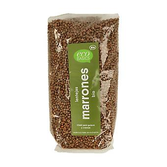 Brown Lentils Bio 500 g