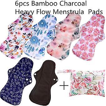 Reusable Bamboo Charcoal Sanitary Pad