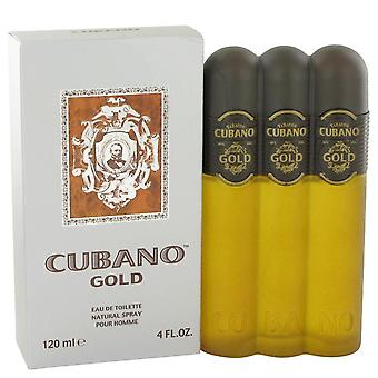 Cubano Gold Eau De Toilette Spray By Cubano 4 oz Eau De Toilette Spray