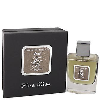 Franck Boclet Oud Eau De Parfum Spray By Franck Boclet 3.4 oz Eau De Parfum Spray