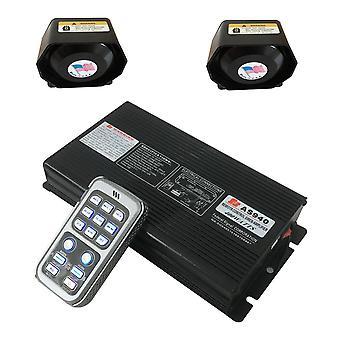 400w Auto Wireless Siren Lautsprecher Verstärker
