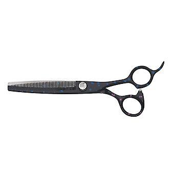 "Groom Professional Sirius Adjustable Tension Thinning Grooming Scissors, 6.5"""