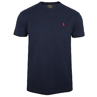 Ralph lauren men's blue classic fit t-shirt